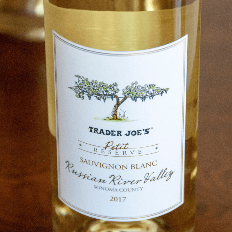 """Trader Joe's """"Petit Reserve"""" Sauvignon Blanc"""