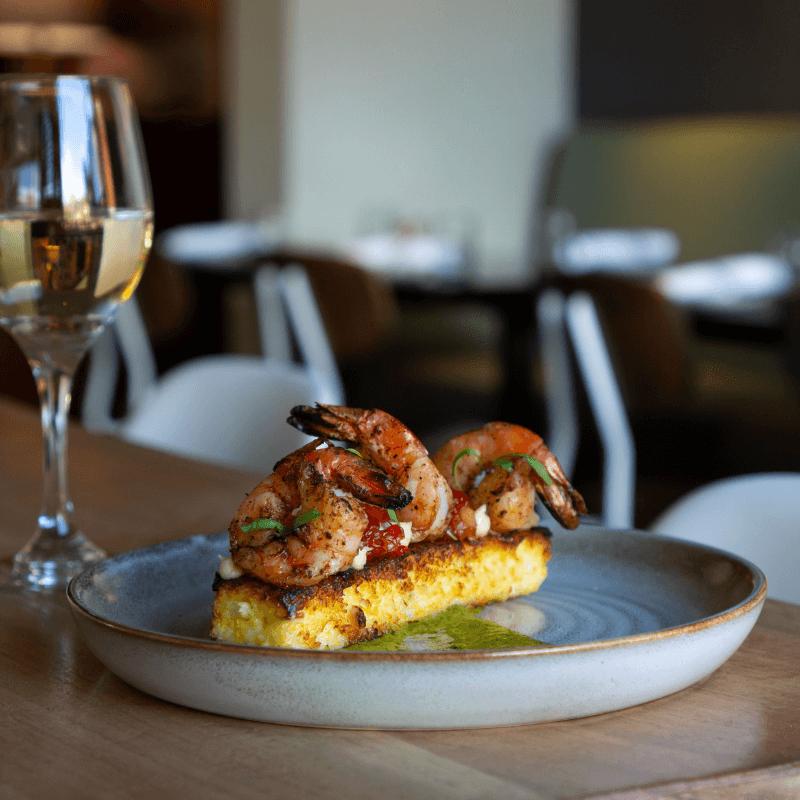 SaltRock Southwest Kitchen Shrimp  Grits