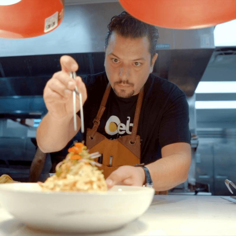 OEB Breakfast Co. Chef Mauro Martina