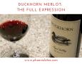 Duckhorn Merlot: The Full Expression