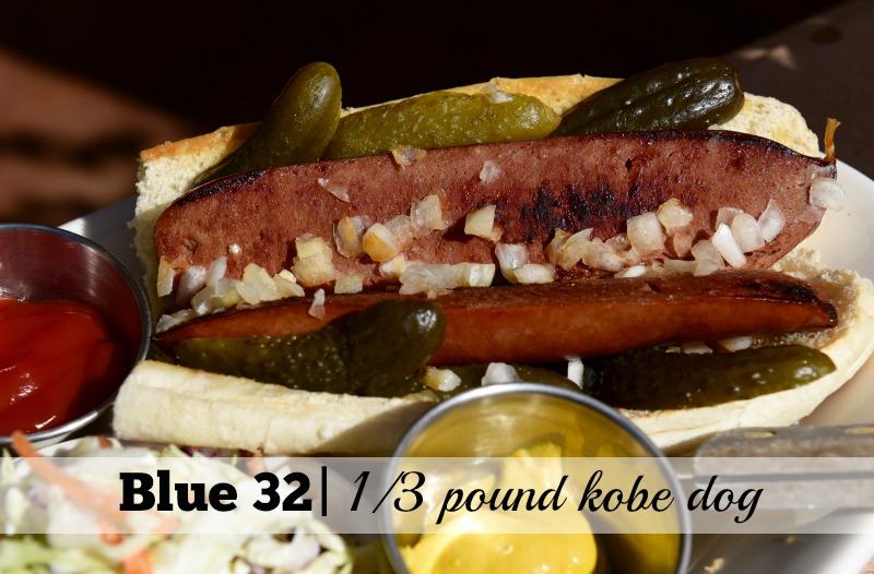 4 of the Best Hot Dogs in Scottsdale: Blue 32 Kobe Dog