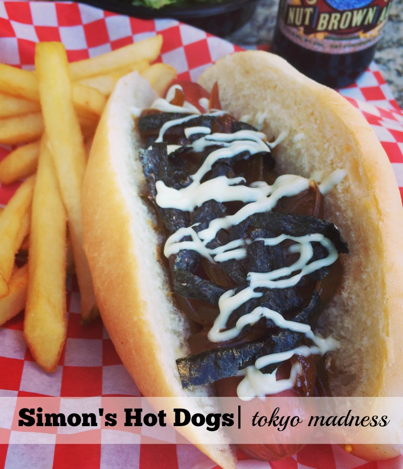 4 of the Best Hot Dogs in Scottsdale: Simon's Hot Dogs Tokyo Madness
