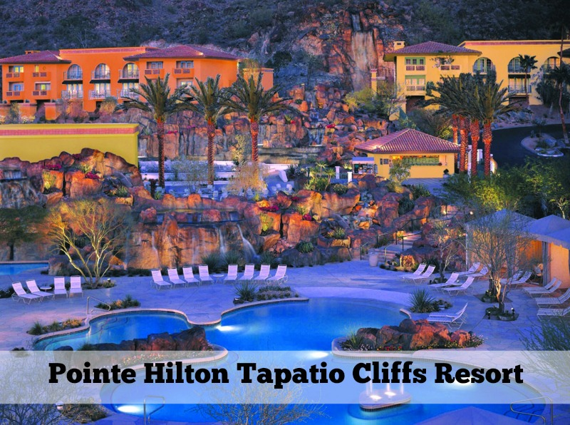 4 Resorts Perfect for Poolside Dining: Pointe Hilton Tapatio Cliffs