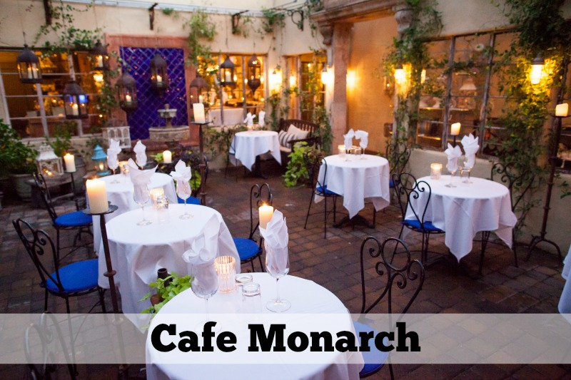 5 Small Restaurants in Scottsdale: Cafe Monarch