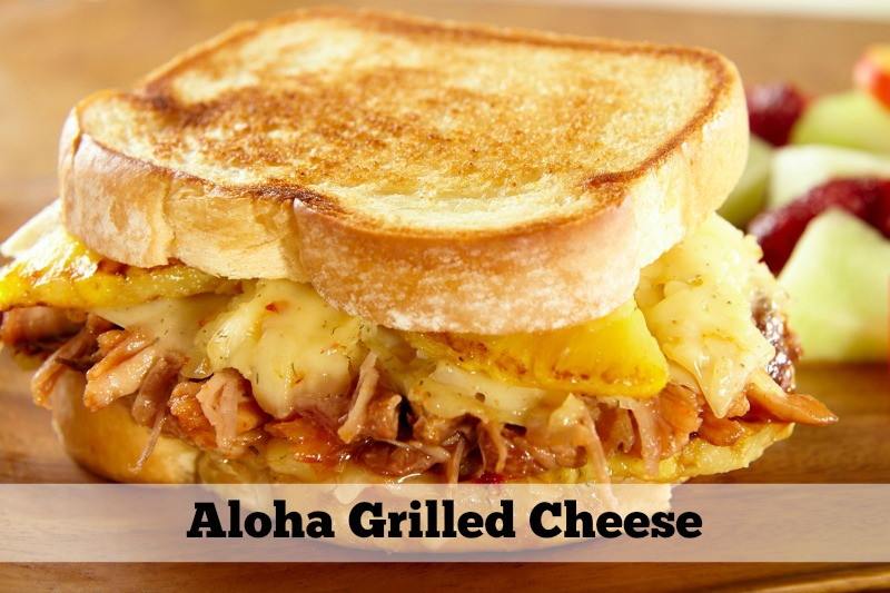 Trendy Grilled Cheese Sandwich Pairings: Aloha Grilled Cheese