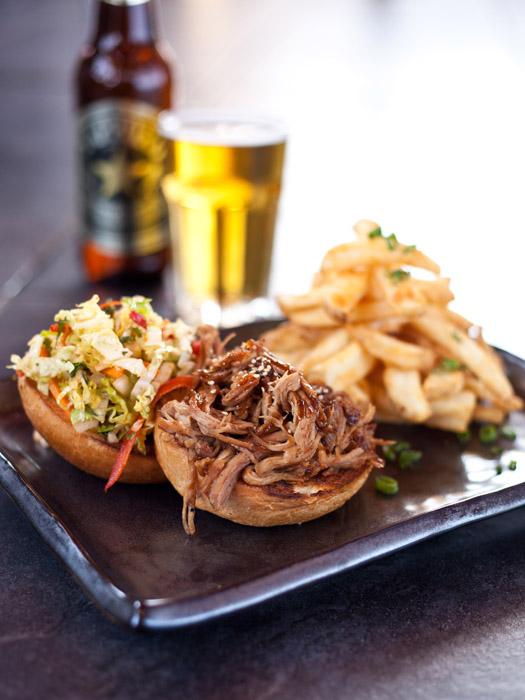 Recipe: Sapporo's Asian BBQ Pork Sandwich
