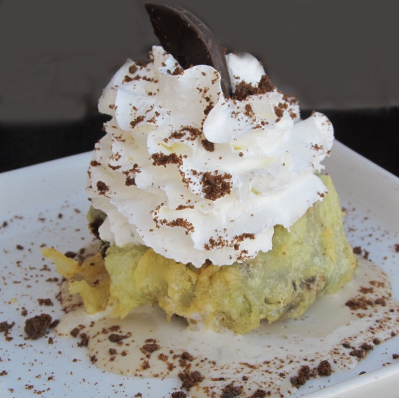 Blue Wasabi - Tempura Thin Mint Ice Cream