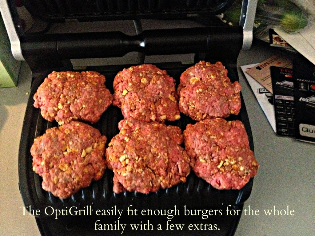 T-Fal OptiGrill in action