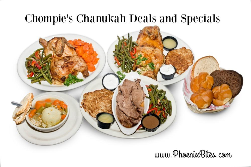 Chompie's Chanukah Dishes