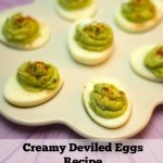 Creamy Deviled Eggs Recipe
