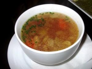 Eddie's House is now open for lunch: Mediterranean Chicken Soup