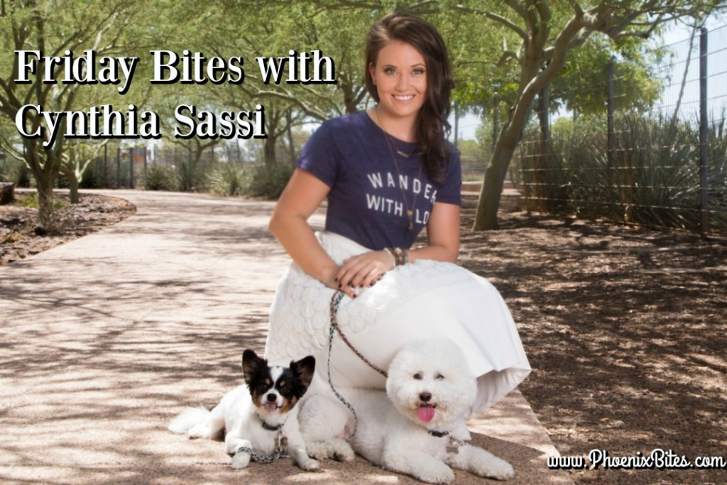 Friday Bites with Cynthia Sassi