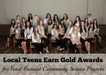 Local Teens Earn Gold Awards for Food-Focused Community Service Projects
