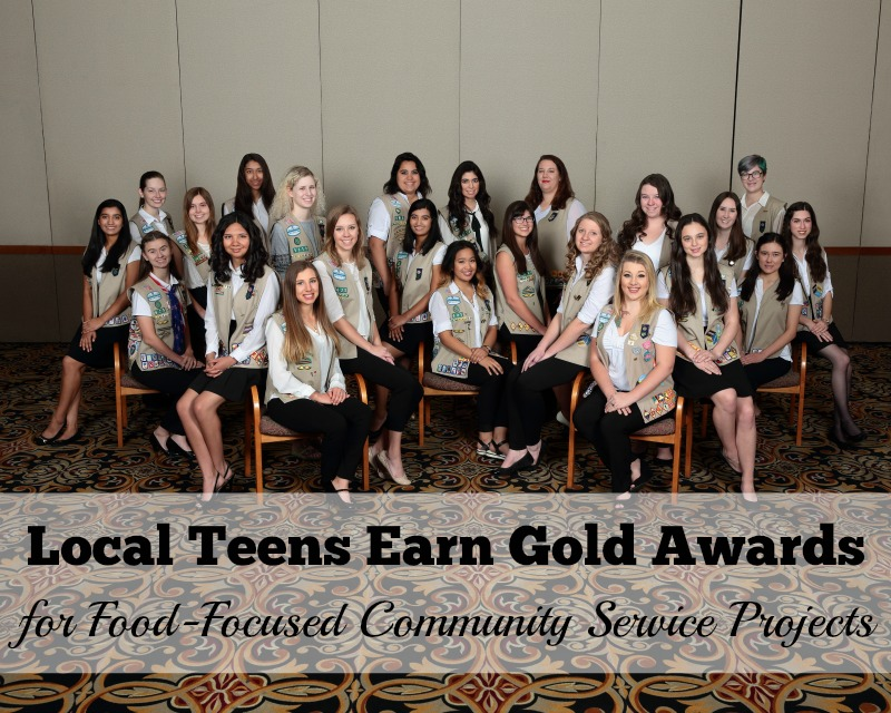 Local Teens Earn Gold Award for Food-Focused Community Projects