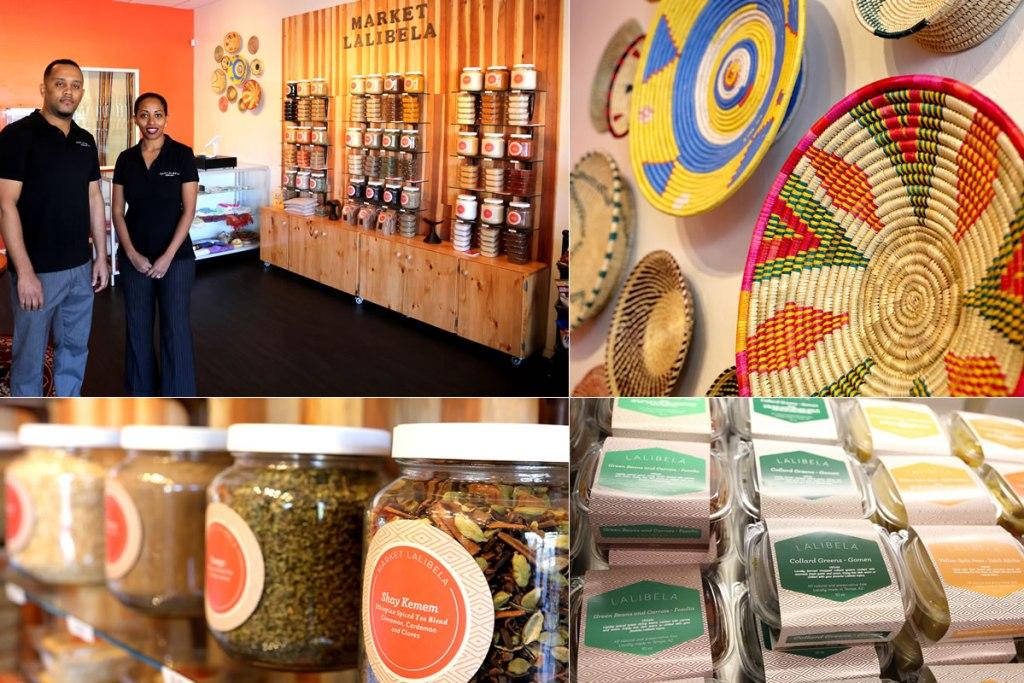 Cafe Lalibela Collage