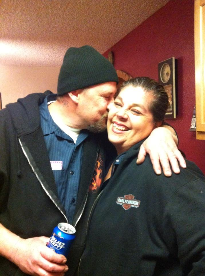 Mike and Felicia Peters
