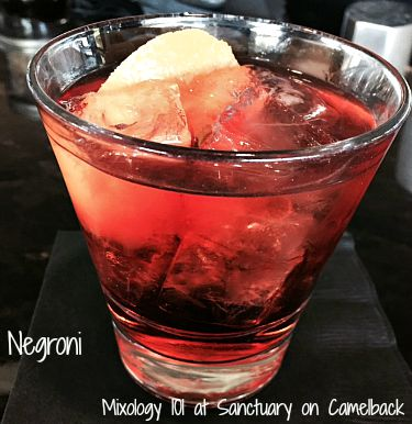 Mixology 101 Negroni