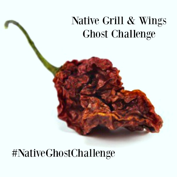 Native Grill & Wings Ghost Wing Challenge
