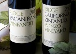 Ridge Zinfandels