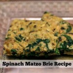 Spinach Matzo Brie Recipe