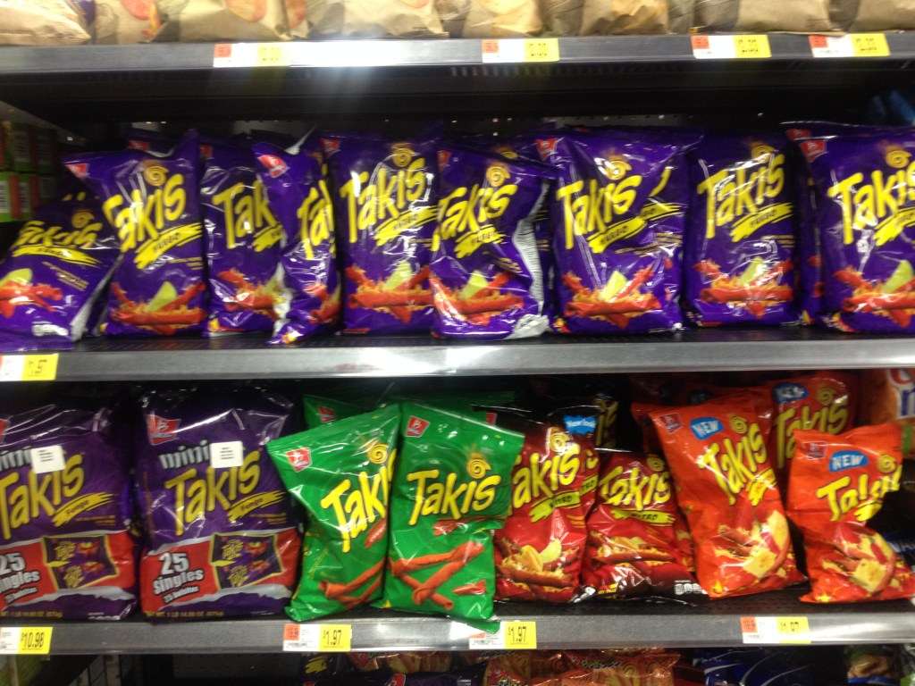 Takis in store