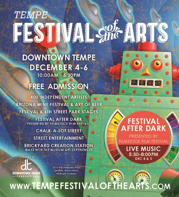 Tempe Festival of the Arts Official Flyer