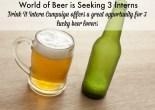 WOB Drink It Intern