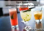 Yard House introduces 5 new handcrafted cocktails