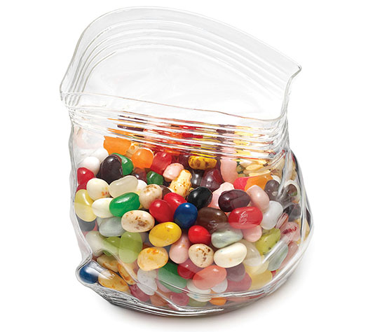 Uncommon Goods Glass Candy Bag