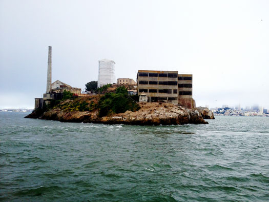 View of Alcatraz from our cruise
