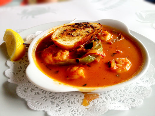 Red Chile Garlic Prawns