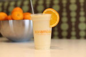 Scramble_Banana Peach Smoothie