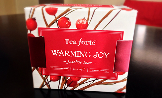 Warming Joy Petite Ribbon Box