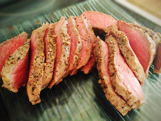 Incredibly tender London Broil - just the way I like it!