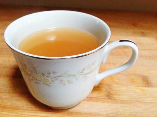 Caramel tea with Millie's Caramels