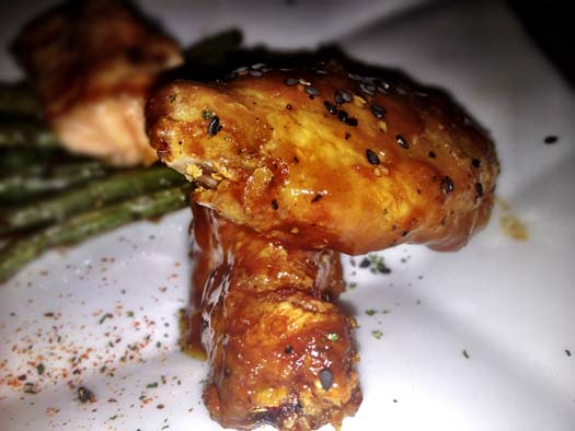 Black Pepper Teriyaki Asian Chicken Wings