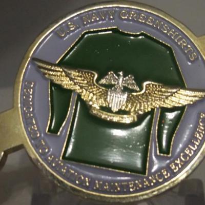 Navy AMDO coin CVW-17 Deployment CAGMO Coin