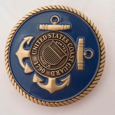 USCG Station Wrightsville Beach Challenge Coin by Phoenix Challenge Coins