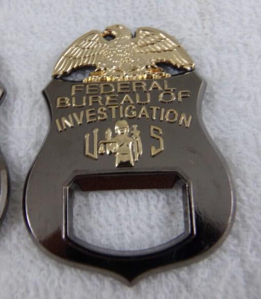 FBI RH Field Office Custom SWAT Coin bottle Opener by Phoenix Challenge Coins