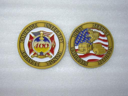 Sable Altura FD Custom Challenge Coin by Phoenix Challenge Coins