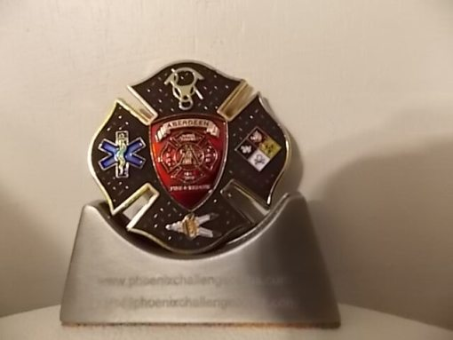 Aberdeen SD Fire Dept Heavy Rescue 3 Custom Fire Department Coin By Phoenix Challenge Coins