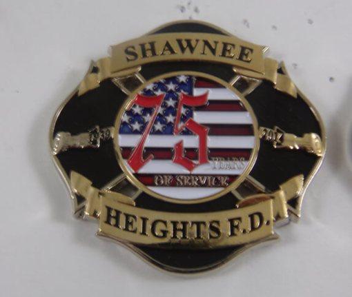 Shawnee Heights FD coin 2