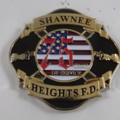 Shawnee Heights FD coin 2