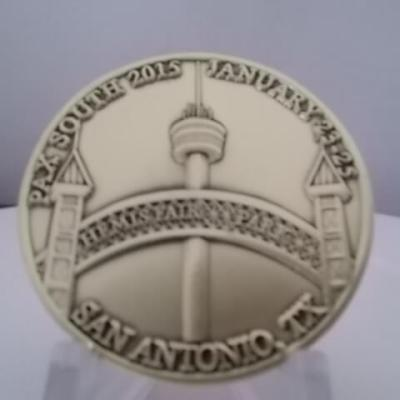 PAX South Conference in Texas 2015 Custom Challenge Coins by Phoenix Challenge Coins