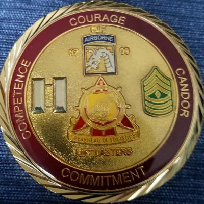 403rd ICTC Combat Support OIF 07-09 Command Team Coin back