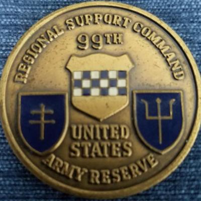 99th Support Command Coin