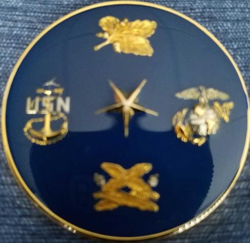 US Navy Officer Candidate School OCS 11-09 Newport, RI Challenge Coin back