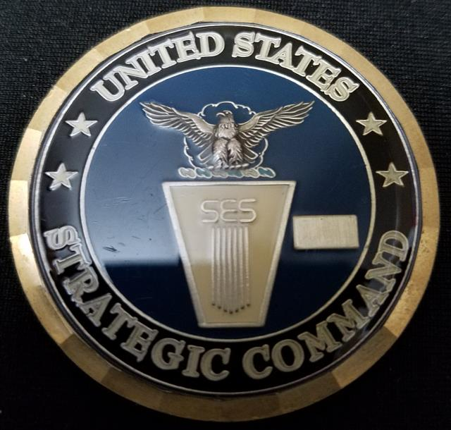US Strategic Command Global Innovation and Strategy Center USSTRATCOM  Challenge Coin - Phoenix Challenge Coins