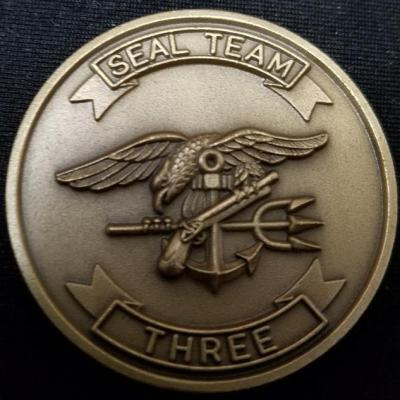 US Navy SEAL Team 3 Challenge Coin