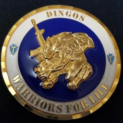 36th ID Dingos OIF Deployment Company Commanders Coin by Phoenix Challenge Coins